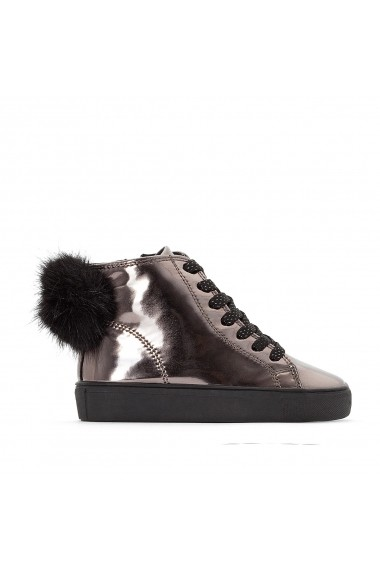 Pantofi sport inalti La Redoute Collections GEY259 negru