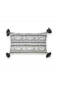 Perna decorativa Tiebelle La Redoute Interieurs GEY274 50x30 cm negru