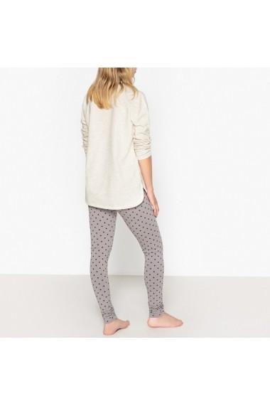 Pijama La Redoute Collections GEY420 bej
