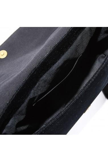 Geanta de mana La Redoute Collections GEY477 negru