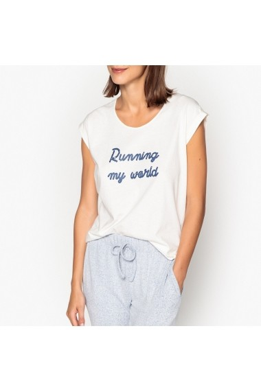 Pijama La Redoute Collections GEY565 alb