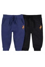 Set 2 pantaloni sport La Redoute Collections GEY940 gri