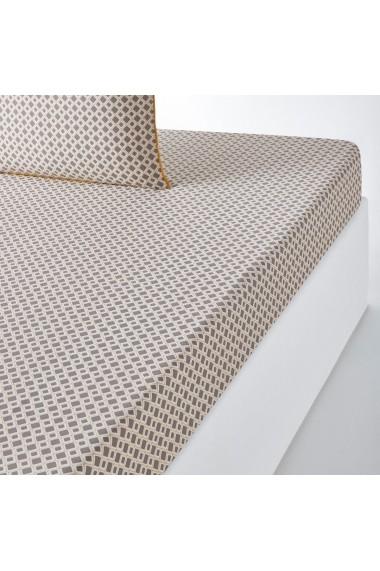 Cearsaf Mashita La Redoute Interieurs GEZ341 160x200 cm gri