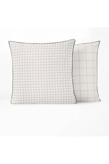 Set 2 fete de perna Basile La Redoute Interieurs GEZ496 50x70 cm alb