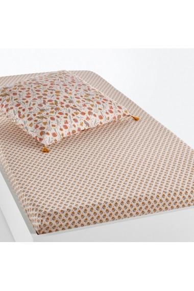 Cearsaf Bertille La Redoute Interieurs GEZ622 90x190 cm roz