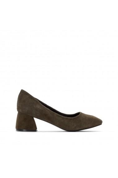 Pantofi cu toc La Redoute Collections GEZ872 kaki