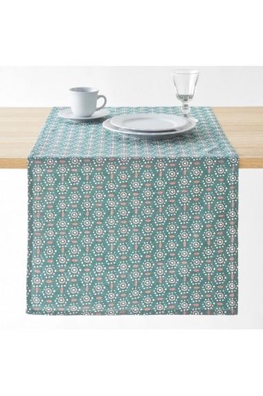 Servet de masa Oleane La Redoute Interieurs GFA222 50x150 cm verde