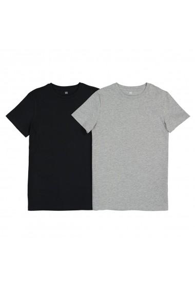 Set 2 tricouri La Redoute Collections GFA260 gri