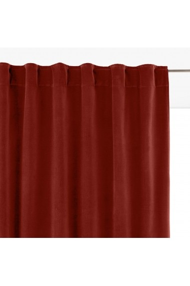 Draperii Velvet La Redoute Interieurs GFA281 260x135 cm rosu