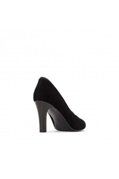 Pantofi cu toc La Redoute Collections GFB091 negru