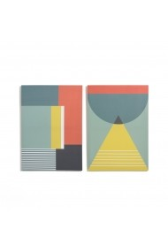 Set 2 tablouri din panza Teloa La Redoute Interieurs GFB167 multicolor