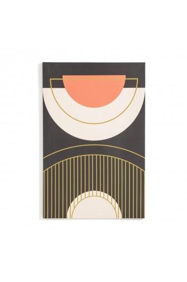 Set 3 tablouri din panza Liana La Redoute Interieurs GFB168 negru
