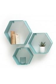 Etajera metalica tip cub Bretty La Redoute Interieurs GFB249 Bleu