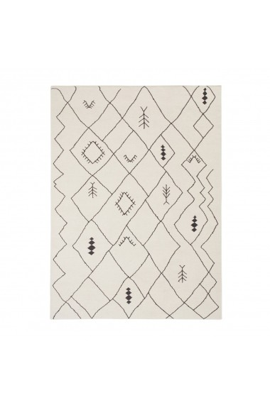 Covor decorativ Barkham La Redoute Interieurs GFB464 160x230 cm negru