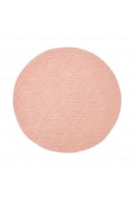 Covor decorativ Andreea La Redoute Interieurs GFB478 Diam 120cm roz