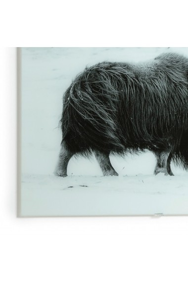 Tablou de perete cu fotografie Bovide AM.PM GFB513 negru