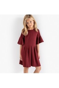 Rochie La Redoute Collections GFB939 bordo