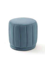 Fotoliu puf Leone La Redoute Interieurs GFD340 albastru