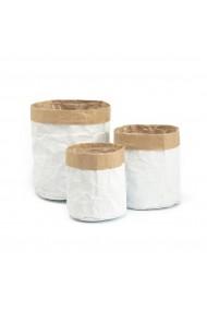 Set 3 cosuri depozitare Piala La Redoute Interieurs GFD450 alb