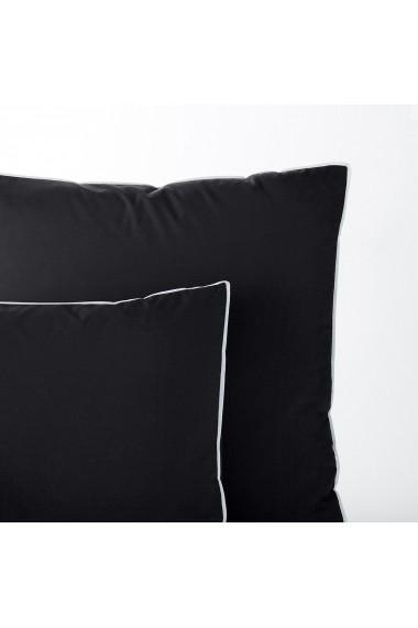 Set 2 fete de perna Teogrim AM.PM GFE066 65x65 cm negru