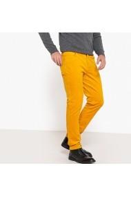 Pantaloni La Redoute Collections GFE249 galben