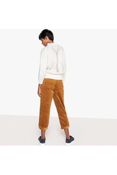Pantaloni largi La Redoute Collections GFE456 bej