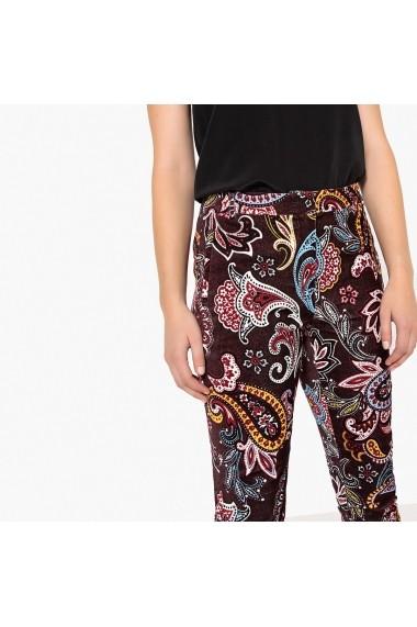 Pantaloni drepti La Redoute Collections GFE460 multicolor