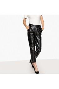 Pantaloni drepti La Redoute Collections GFE477 negru