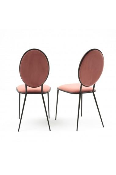 Set 2 scaune Novani La Redoute Interieurs GFE837 roz