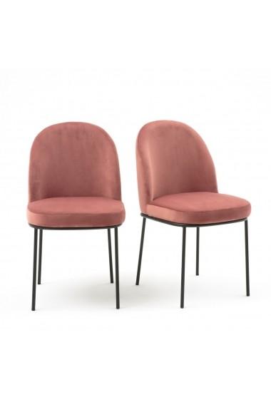 Set 2 scaune Topim La Redoute Interieurs GFE861 roz