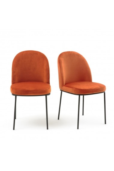 Set 2 scaune Topim La Redoute Interieurs GFE861 maro