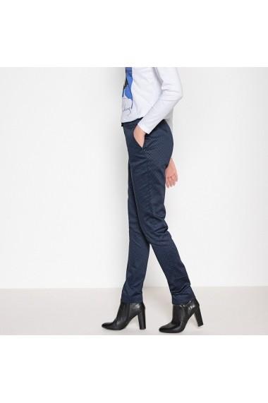 Pantaloni drepti ANNE WEYBURN GFE941 negru - els