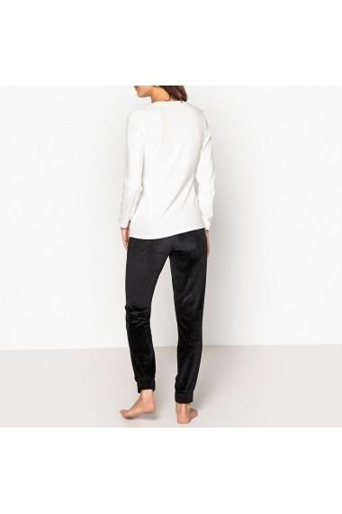 Pijama La Redoute Collections GFF081 negru