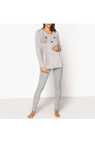 Pijama La Redoute Collections GFF082 gri
