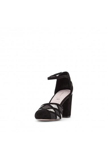 Pantofi cu toc MADEMOISELLE R GFF647 negru - els