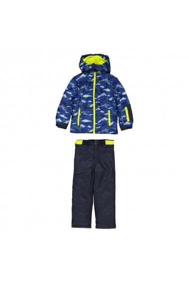 Costum de ski - doua piese La Redoute Collections GFF652 albastru