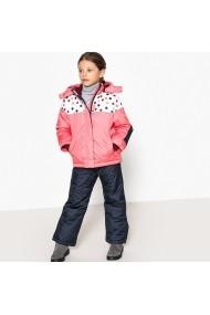 Costum de ski - doua piese La Redoute Collections GFF892 roz