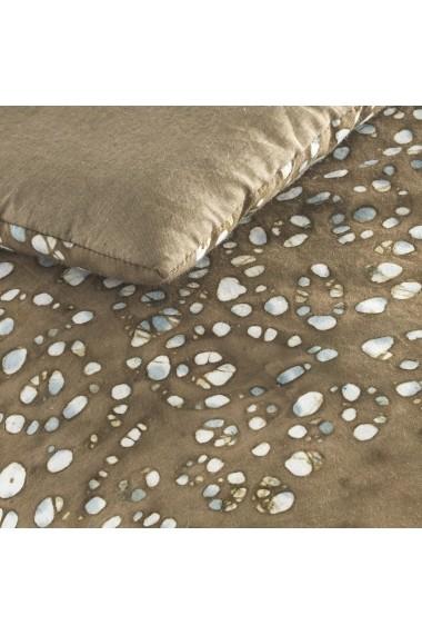 Cuvertura matlasata de pat Girasol AM.PM GFG151 100x180 cm maro