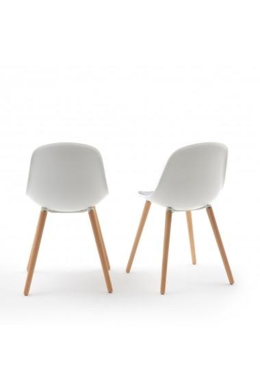 Set 2 scaune Wapong La Redoute Interieurs GFG818 alb