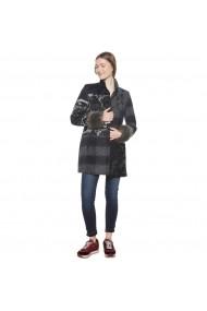 Palton din blana sintetica DESIGUAL GFH423 Neagra