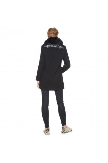 Palton DESIGUAL GFH424 Negru