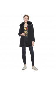 Palton din blana sintetica DESIGUAL GFH424 Neagra