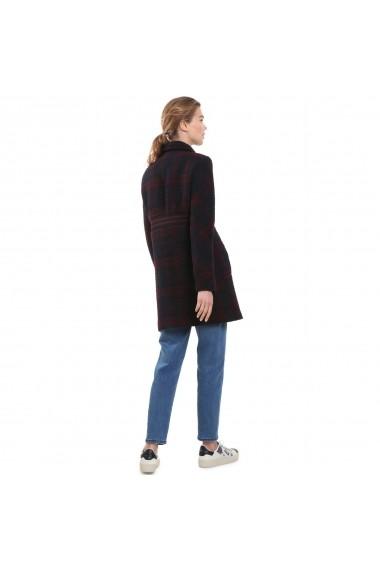 Palton din blana sintetica DESIGUAL GFH427 Bleumarin