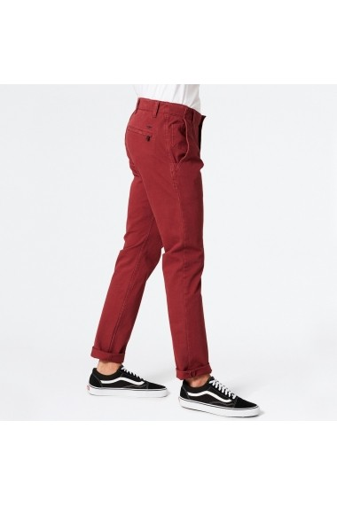 Pantaloni DOCKERS GFH462 bordo