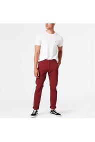 Pantaloni DOCKERS GFH462 bordo