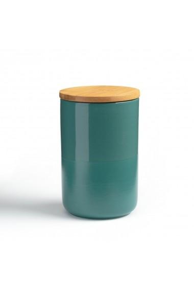 Vas din ceramica pentru depozitare Terbla La Redoute Interieurs GFH506 albastru