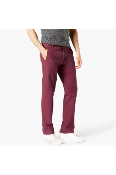 Pantaloni DOCKERS GFH524 bordo