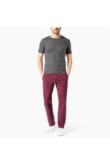 Pantaloni DOCKERS GFH524 bordo