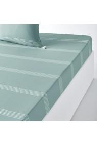 Cearsaf Riad La Redoute Interieurs GFH873 90x190 cm verde