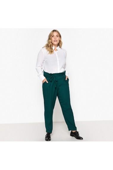 Pantaloni drepti CASTALUNA GFI342 verde
